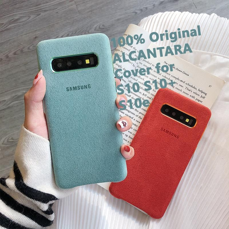 The Galaxy S10 S10 Plus S10e Alcantara Cover Provides Unique And Stylish Protection For Your Smartphone The Preci Girly Iphone Case Galaxy Cool Phone Cases