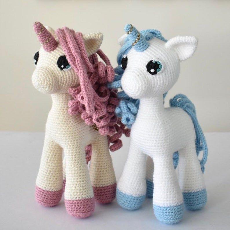 Muñeco amigurumi unicornio - crochet y ganchillo - hecho a mano en ... | 794x794