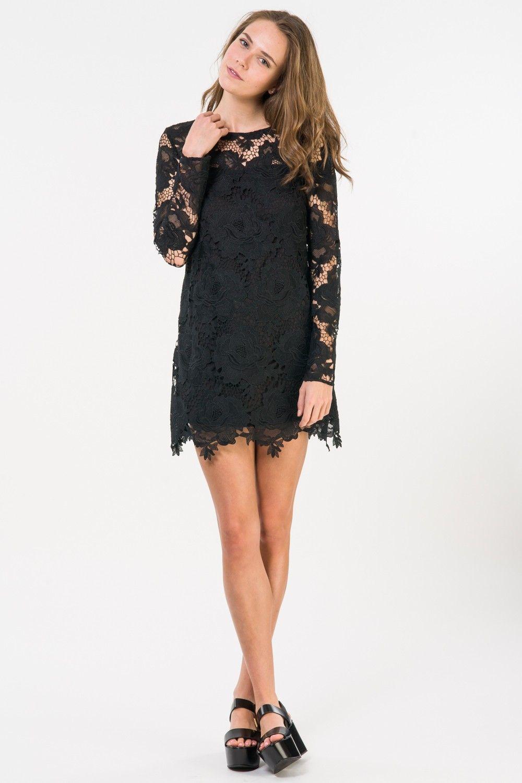 Moss Dress - Black