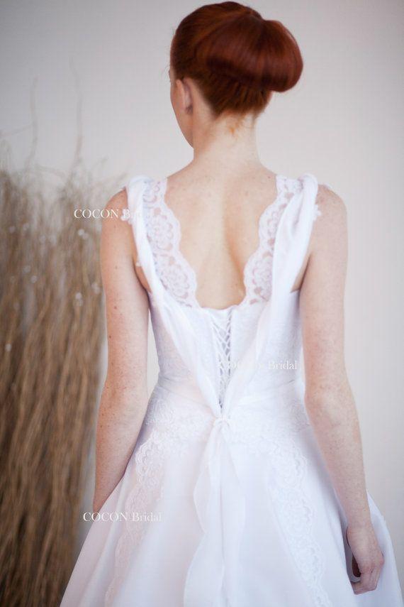 Hochzeitskleid/Brautkleid romantisch Gown Garten von CoconBridal ...