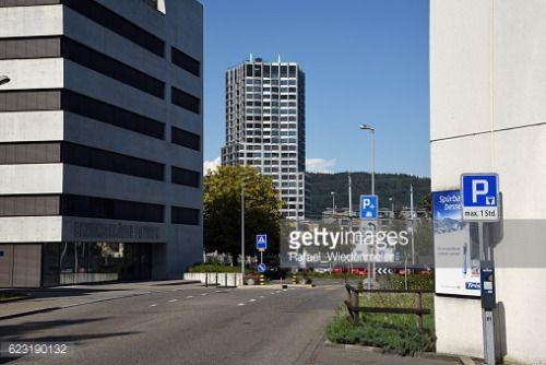 Dietikon, Switzerland - August 28, 2016: Skyscraper in Dietikon... #dietikon: Dietikon, Switzerland - August 28, 2016:… #dietikon