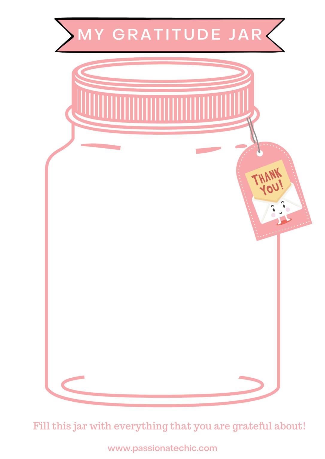 Gratitude Jar In