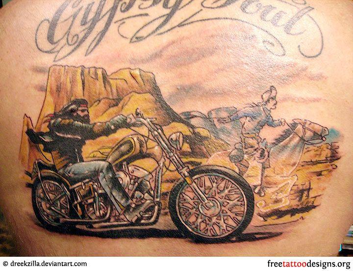 biker and harley davidson tattoos tattoos pinterest bikers tattoo and bike tattoos. Black Bedroom Furniture Sets. Home Design Ideas