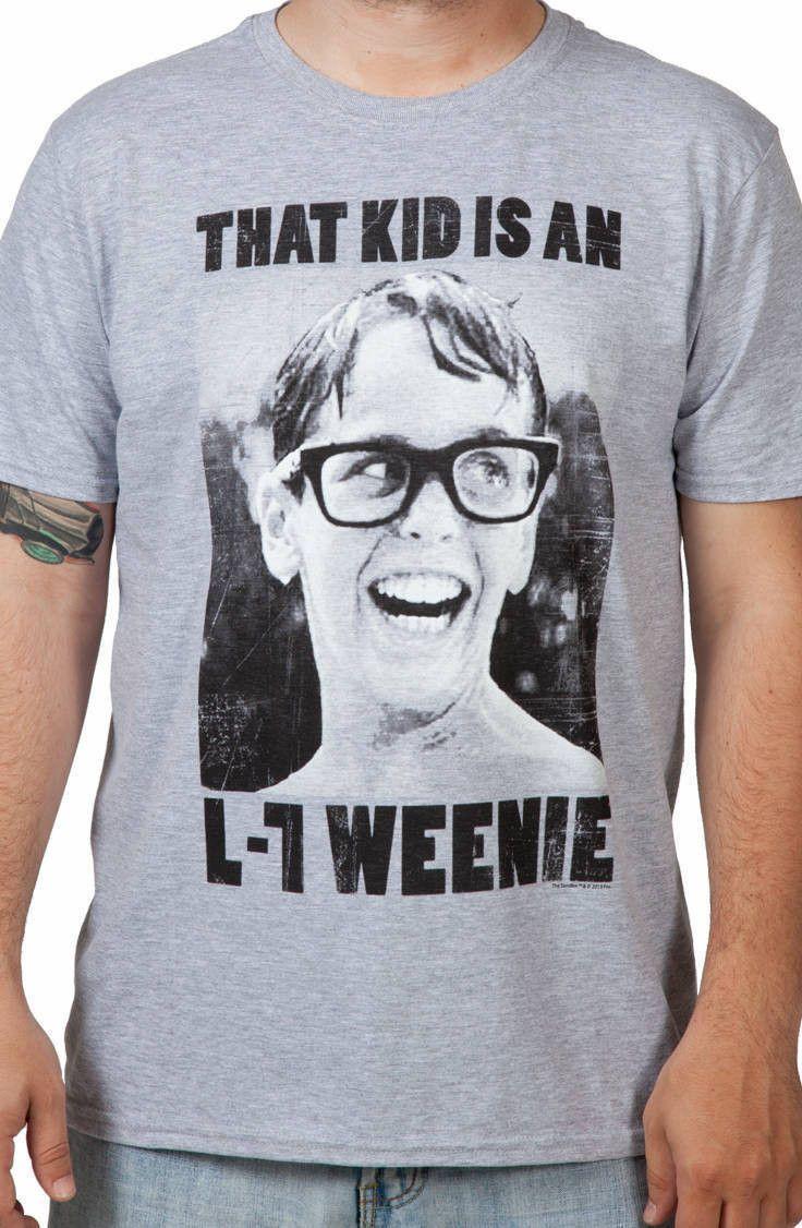 2f48278a3 L-7 Weenie Sandlot Shirt: Movies The Sandlot T-shirt | Virtual ...