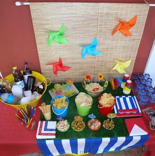 Mimosorum 7 ideas para una fiesta en la piscina pool for Ideas para decorar piscinas