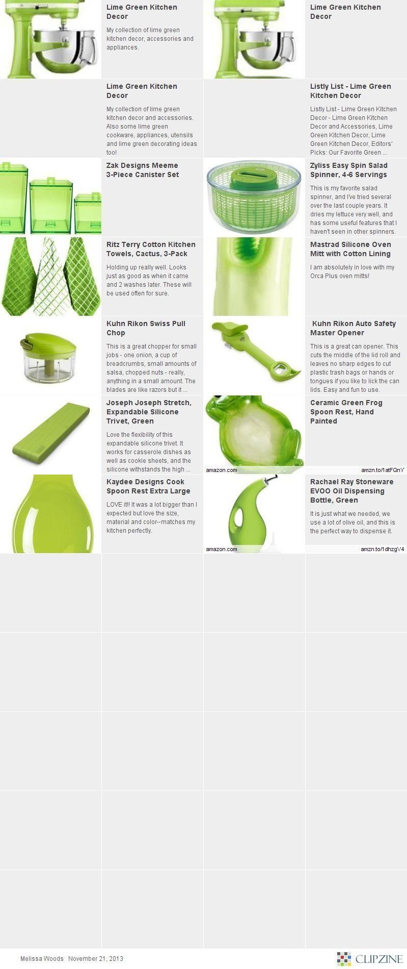 Lime Green Kitchen Decor That I Love Lime Green Kitchen Green Kitchen Decor Green Kitchen Lime green kitchen utensils
