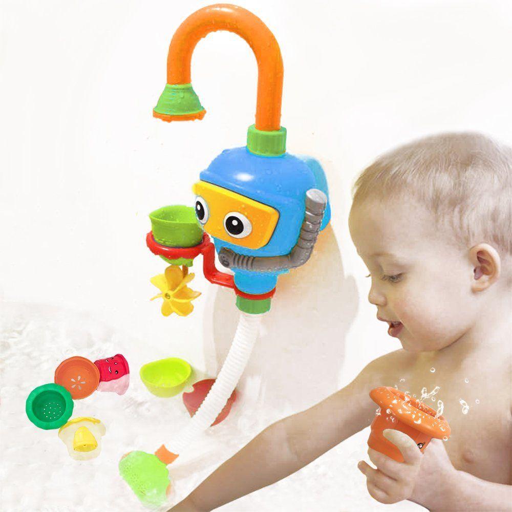 Wishtime Kinder Wasser Dusche Badespielzeug Badewanne Brunnen Spielzeug 3 Stackable And Nesting Cups Submarines A In 2020 Baby Badespielzeug Badespielzeug Wasserbahn