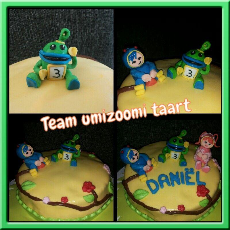 Umizoomi Cake Topper Tutorial