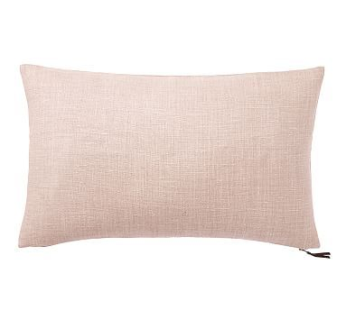 "16X26 Pillow Insert Beauteous Libeco Linen Lumbar Pillow Cover 16 X 26"" Pewter  Products Design Inspiration"
