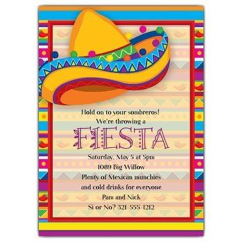 Mexican Invitation Wording Paperstyle Party Invite Template Mexican Party Invitation Mexican Invitations