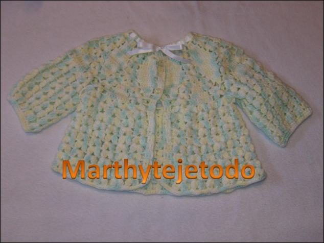 Patrones de chambritas tejidas a gancho - Imagui | bebes ...