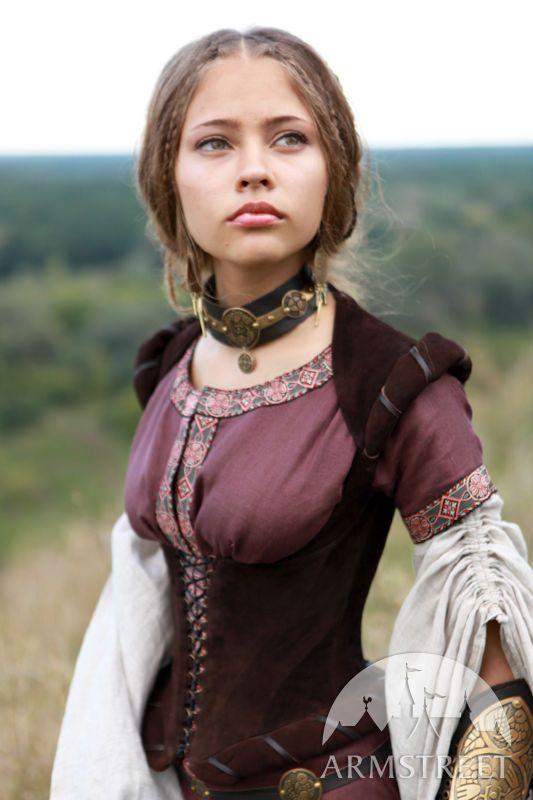 Medieval bodice dress