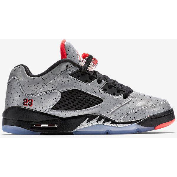 innovative design 2ec5d 634d9 Air Jordan 5 Retro Low NJR x Jordan (3.5y-7y) Big Kids  Shoe. Nike.com  ( 180) ❤ liked on Polyvore featuring jordan 5