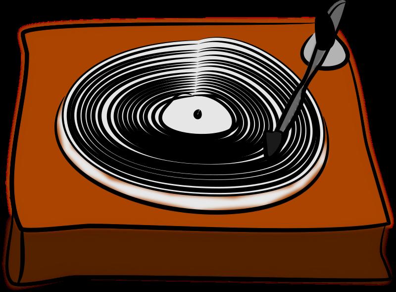 Free Vinyl Record Clip Art Record Player Vinyl Records Vinyl Record Player