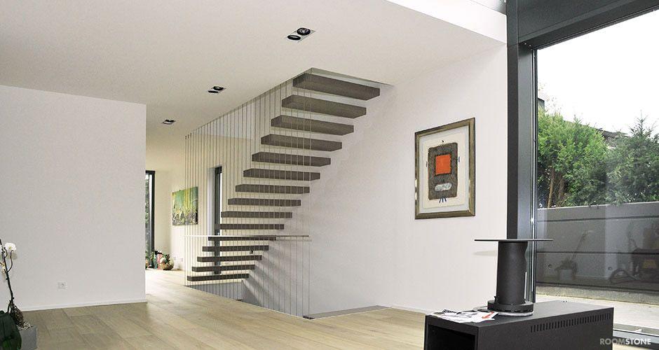 ... RoomStone®   Exklusives Aus Sichtbeton, Freitragende   Exklusives  Treppen Design ...
