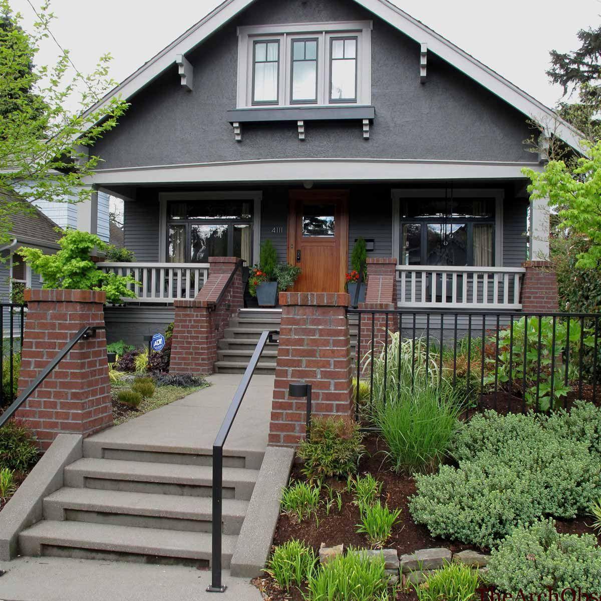 Brick Home Exterior Color Schemes: Exterior House Colors, Red
