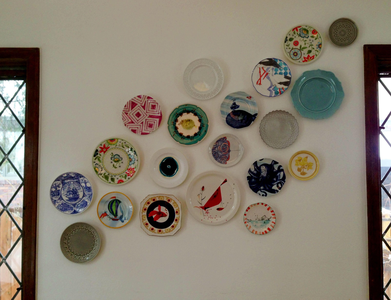 Plate wall anthropologie collection platos platos de - Platos decorativos pared ...