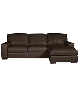 Sofa Table Fabrizio Leather Piece Chaise Sectional Sofa Couches u Sofas Furniture Macy us