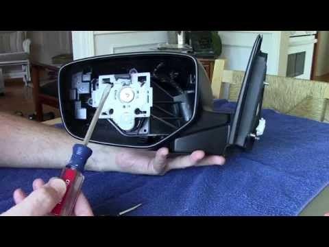 Replace 2008 2010 Honda Accord Side Mirror How To Change Install Skull Cap 2009 Youtube Honda Accord Installing Siding Headlight Covers
