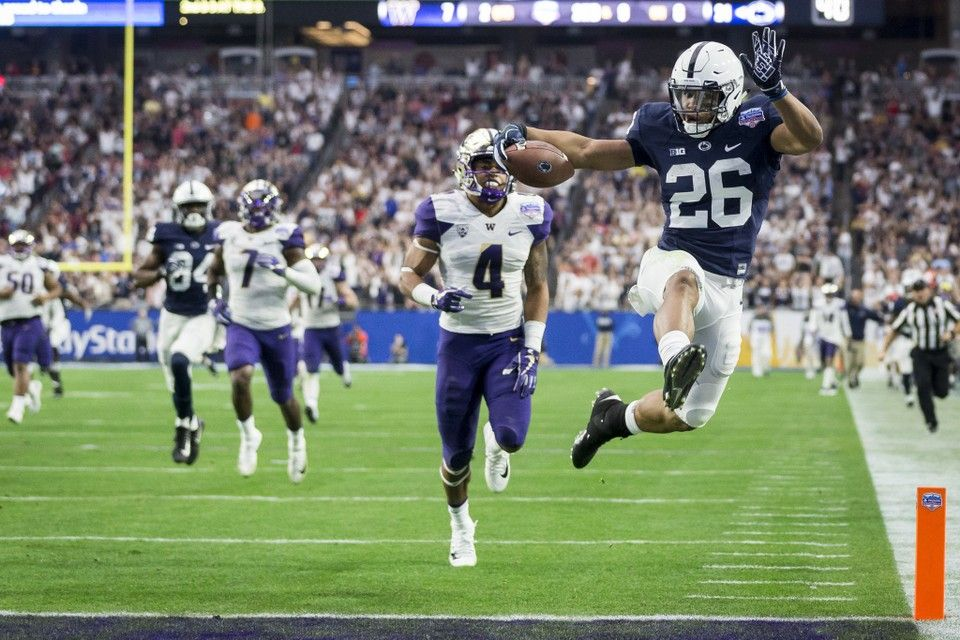 Penn State S All Time Rushing Leaders Can Miles Sanders Crack This