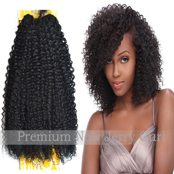 100 Sensationnel Premium Now Jerry Curl Human Hair