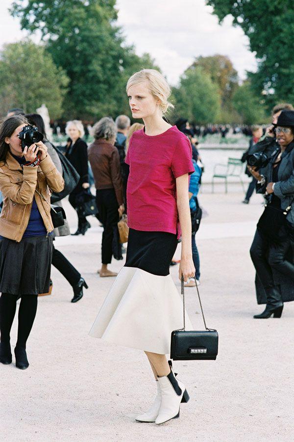 #fashion-ivabellini Vanessa Jackman: Paris Fashion Week SS 2013...Hanne