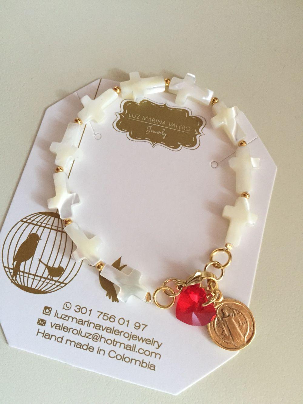 Pulsera de nácar by Luz Marina Valero Jewelry   Pulseras pc ...