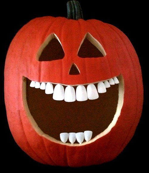 Pumpkin faces \u2013 spooky, scary, cute and funny ideas for Halloween - halloween crafts ideas
