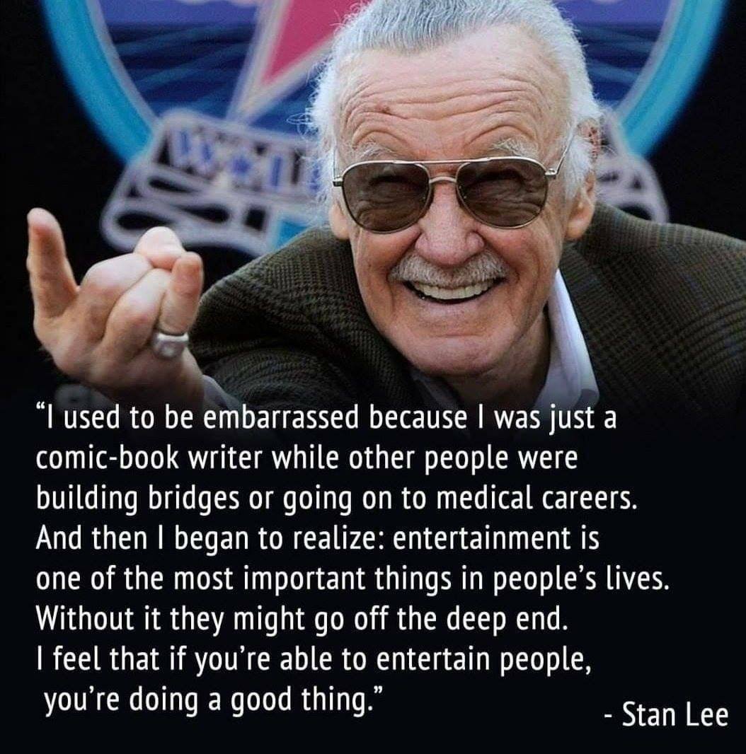 Rip Stan Lee Excelsior Marvel Quotes Stan Lee Quotes Stan Lee