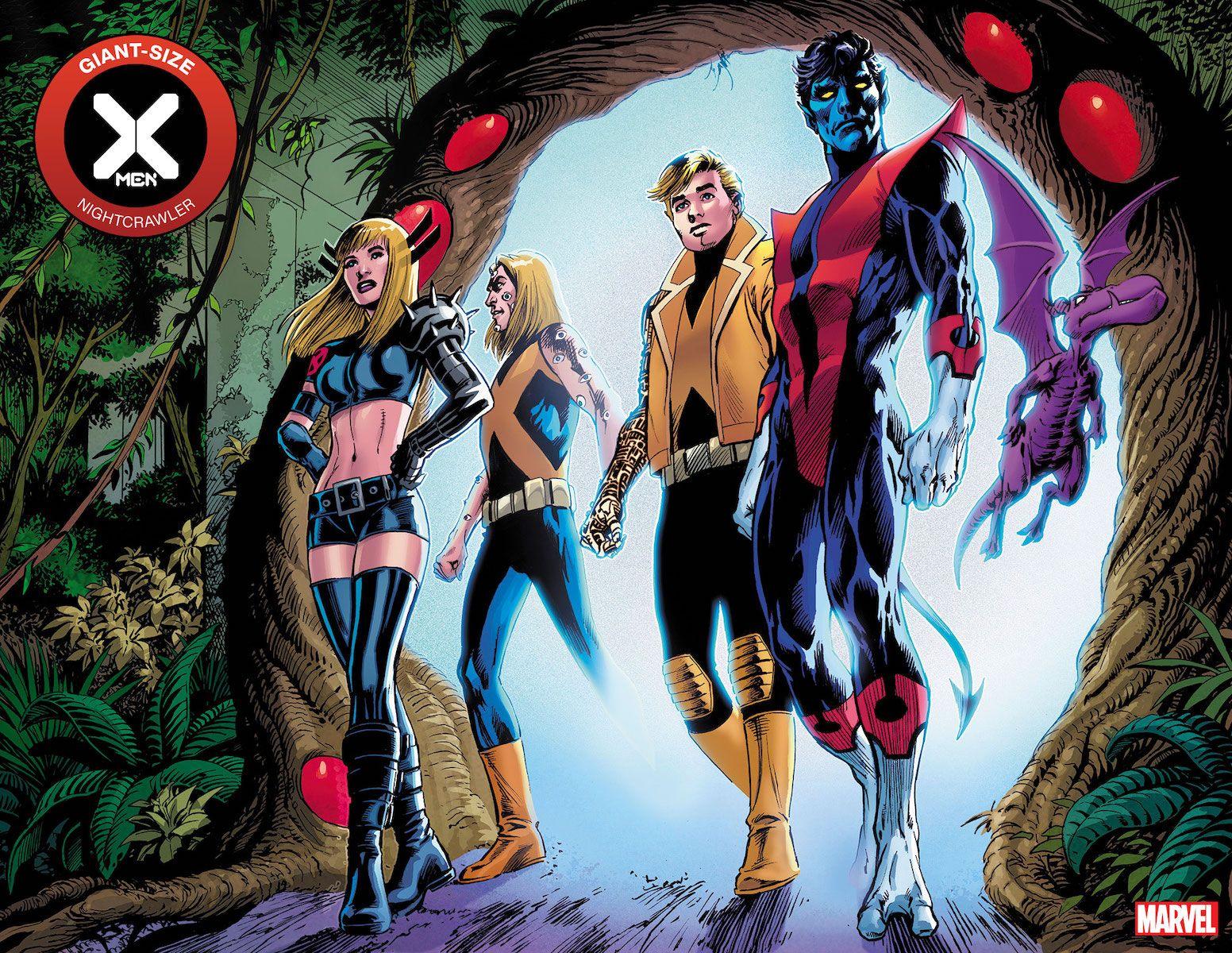 Marvel X Men C2e2 20 Panel Art In 2020 Marvel Women Xmen Comics Nightcrawler
