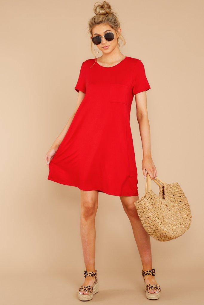 10+ Red t shirt dress ideas