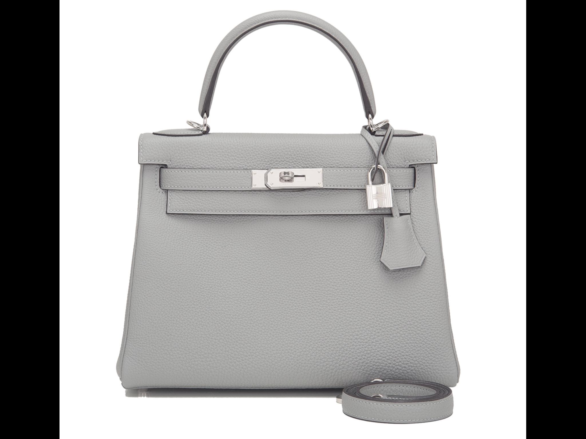 56ac12c44abff ... best price hermes kelly 32cm gris mouette silver hardwear a gorgeous  bag 3b764 8c81f