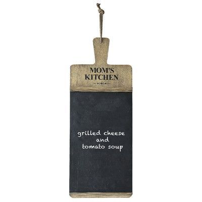 Creative Co-Op Casual Country Mom's Kitchen Chalkboard