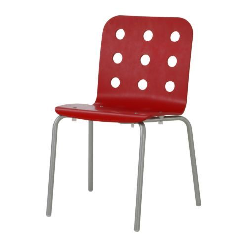 Awesome Visitor Chair   JULES Visitor Chair IKEA The Chairs Are Stackable And Save  Space When Not · Red OfficeSilver ...