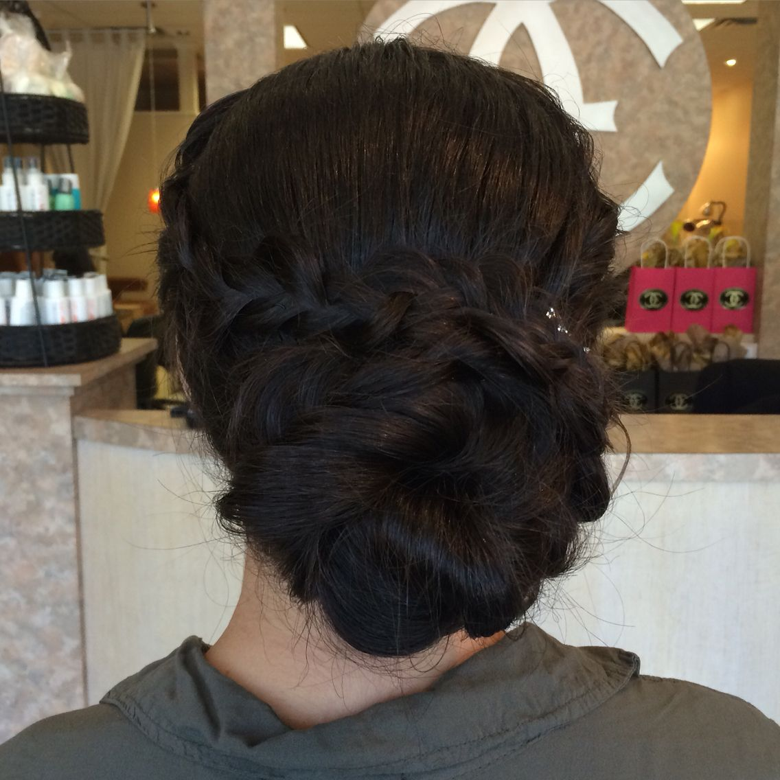 Prom Updo Style Loose Boho Bohemian Braid Wedding Curls Upstyle Formal