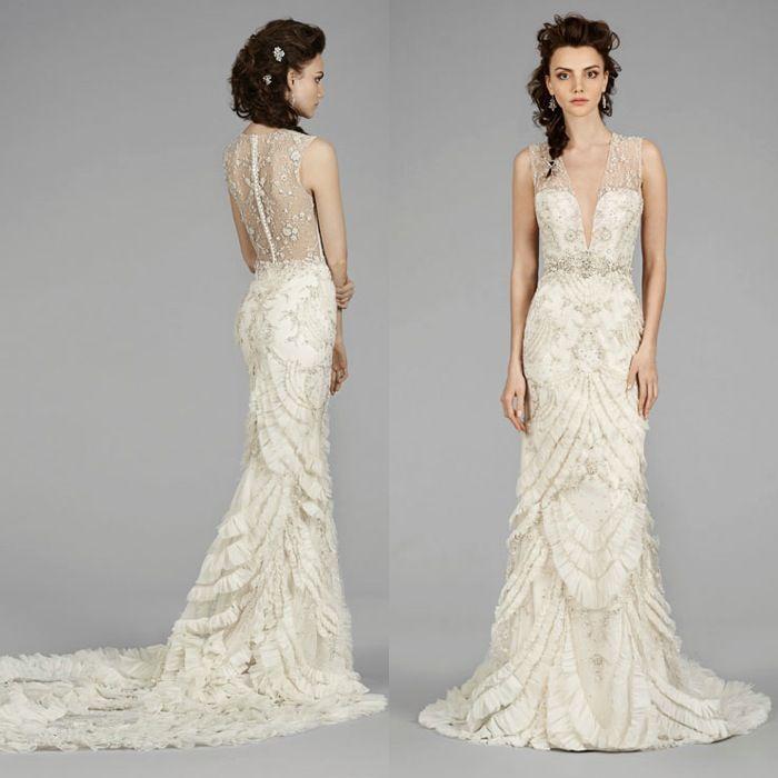 Lazaro Wedding Dresses 2014 Fall Collection Lazaro Wedding