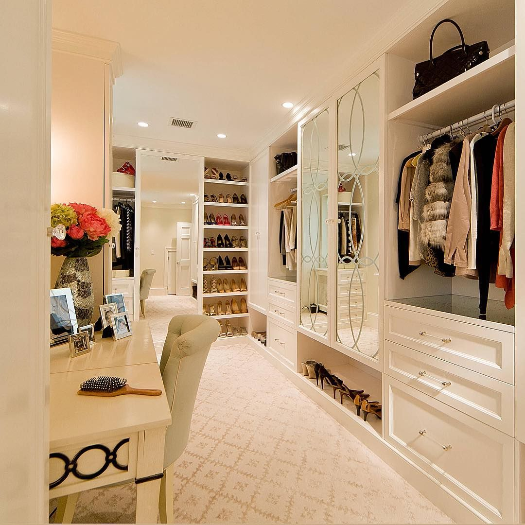 Don't mind if I do! Walk in closet by Sroka Design
