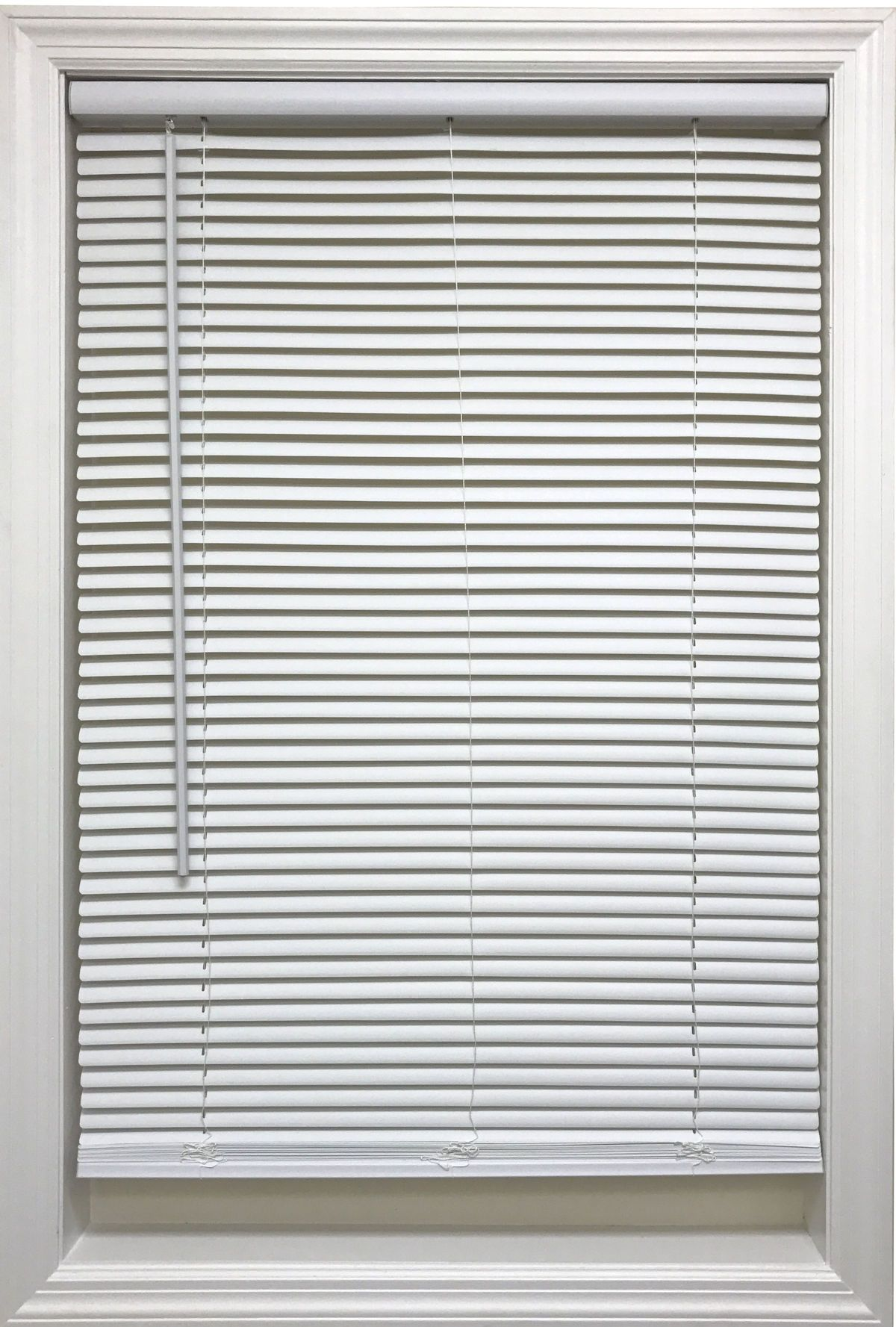 Cordless 1 Vinyl Mini Blinds White In 2020 Vinyl Mini Blinds Mini Blinds Blinds