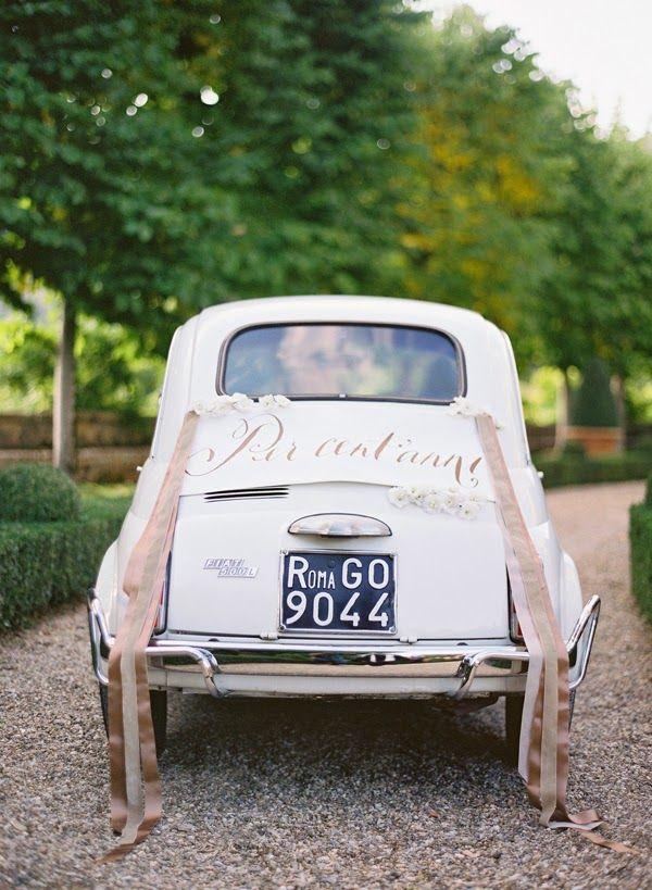 Macchine Matrimonio Toscana : Matrimonio all italiana fiat italian wedding in