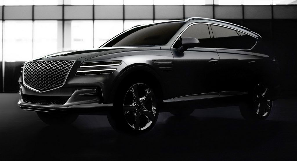 Genesis Gv80 First Official Photos And Details Of Luxury Suv Ahead Of January 16 Debut Updated In 2020 Luxury Suv Suv Hyundai Genesis