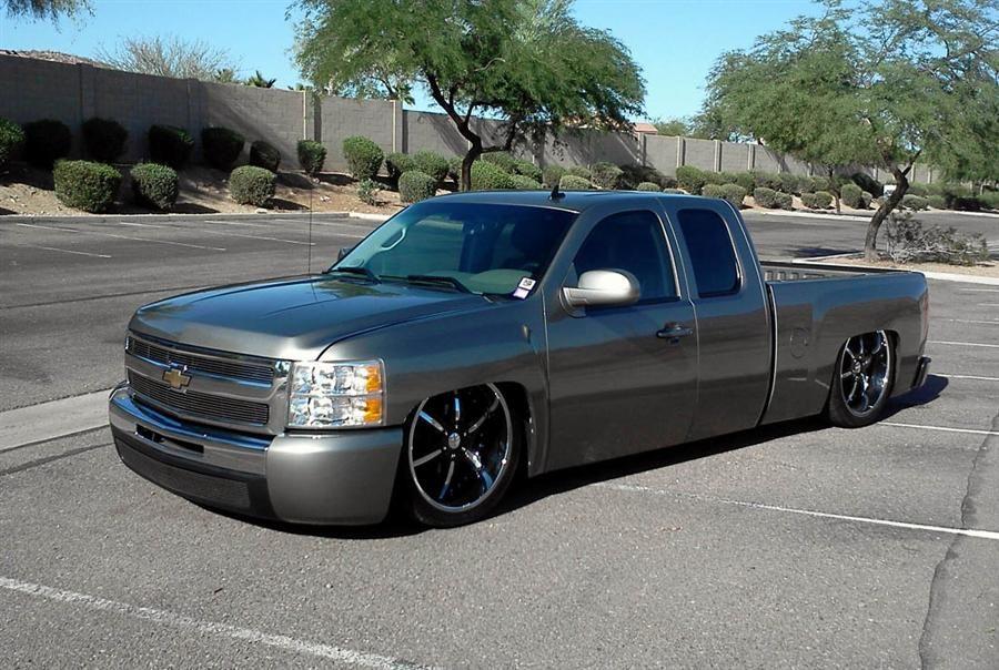 Bagged Silverado Chevrolet Silverado Lowrider Trucks Chevrolet Trucks