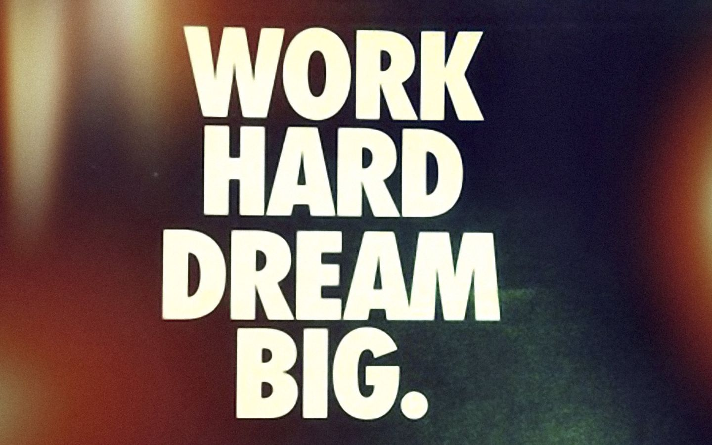 hard work It's hard to be a success without working hard–but it doesn't guarantee anything, especially in this economy.