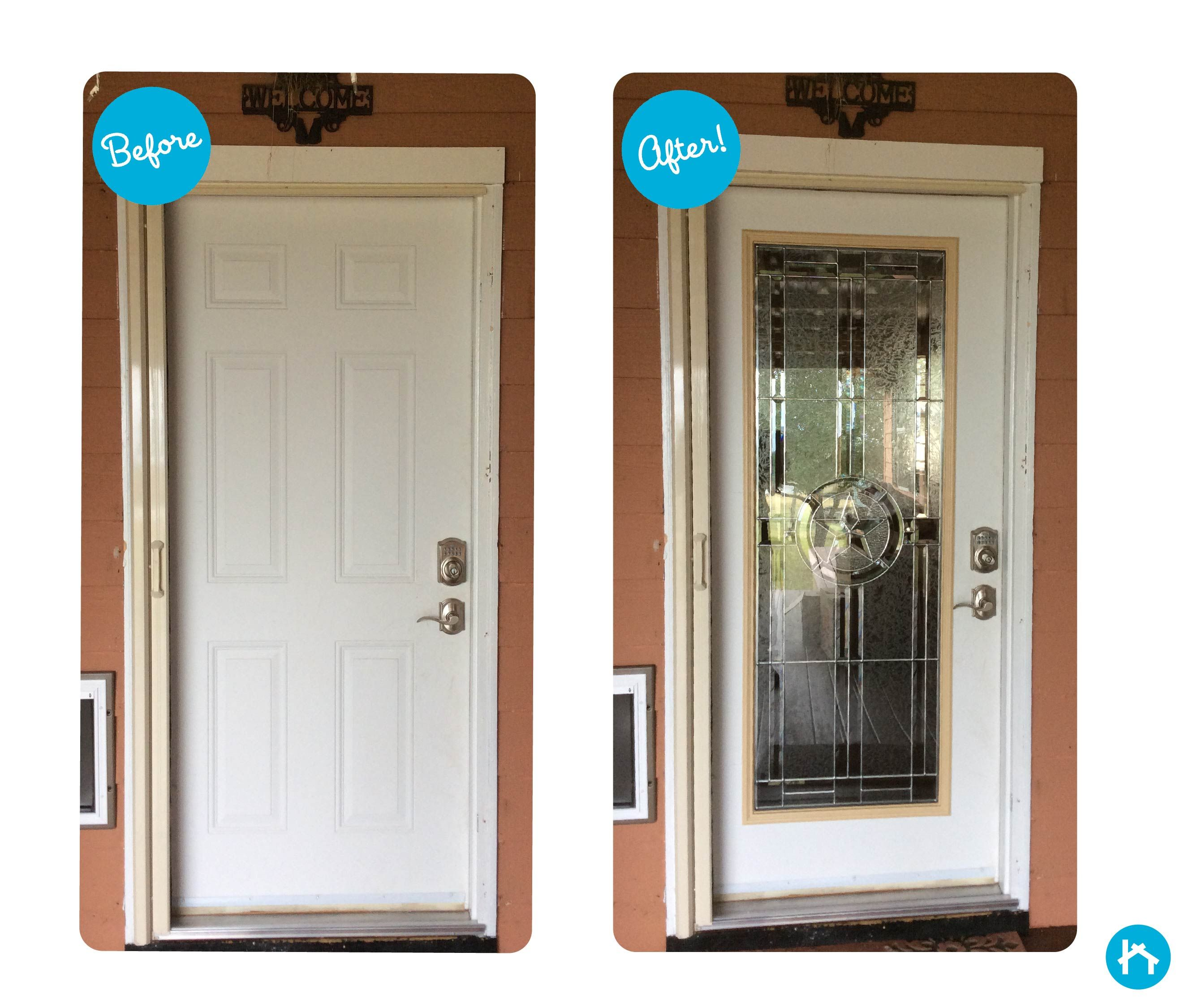 Transform Your Door With Decorative Door Glass Add Or Replace