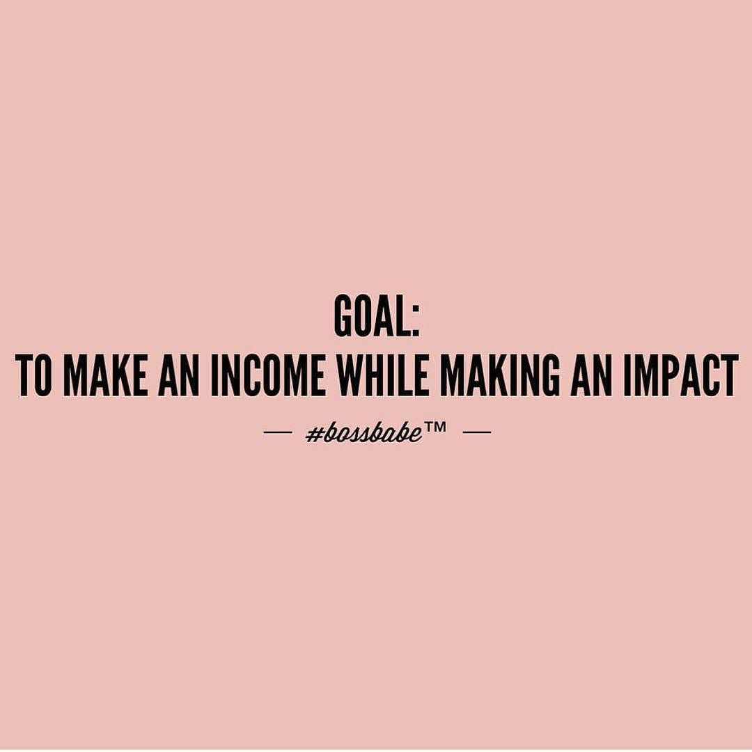 If you want to make an income while making and impact click the link in our