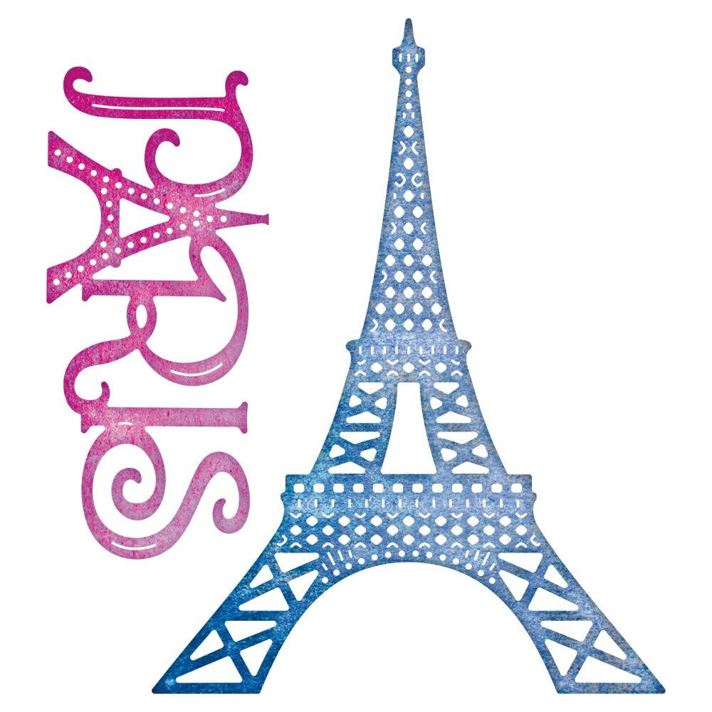 Cheery Lynn - Die - Paris Eiffel Tower Set | Siluetas - Objetos y ...