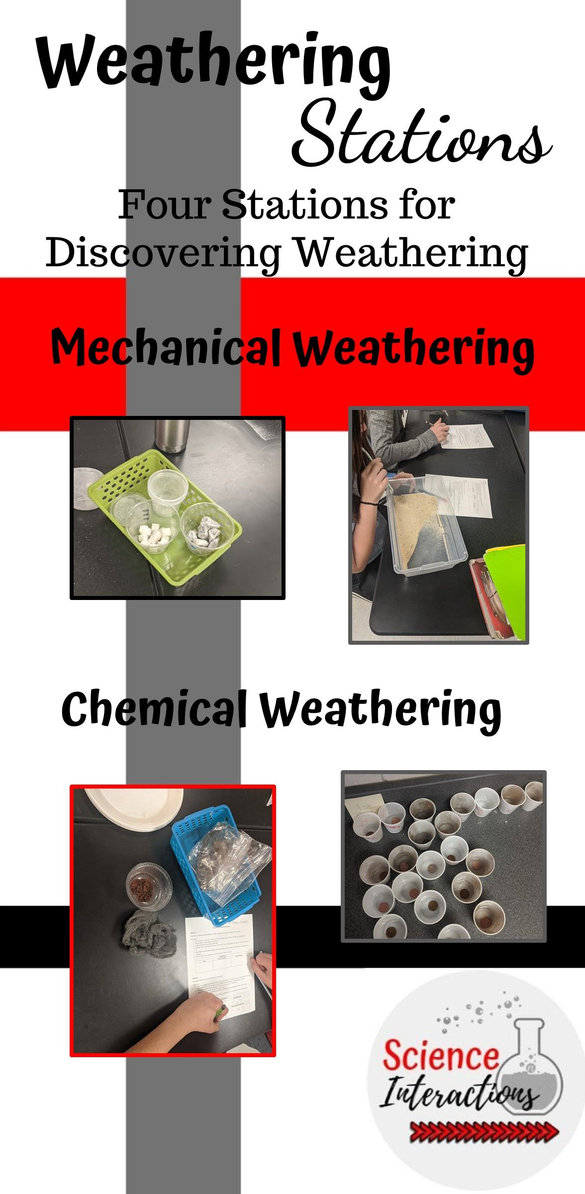 Types Of Weathering Stations In
