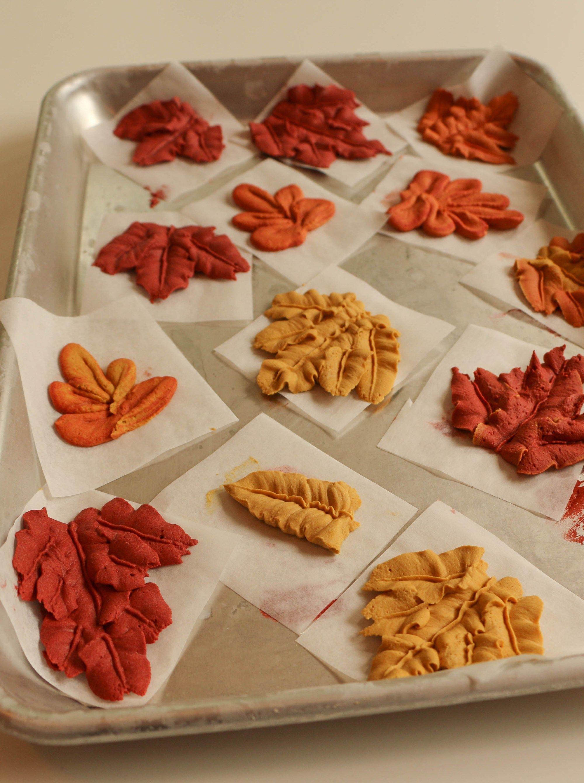 Buttercream Fall Leaves   Erin Bakes   Fall cakes ...
