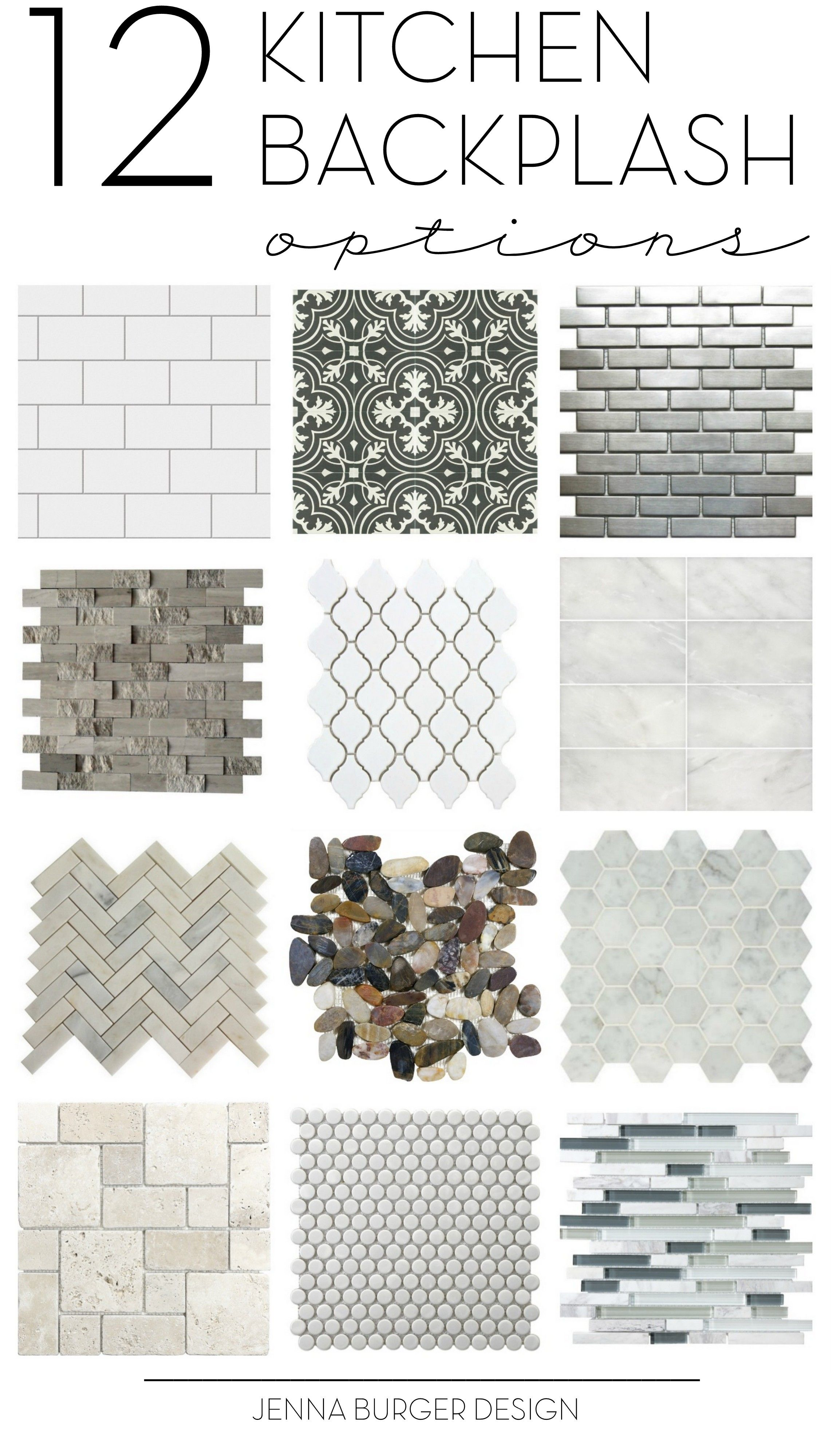 How do you choose the perfect kitchen tile backsplash? There are so many decisions. Check out this not-to-be-missed round up of 12 ideal options for the ...