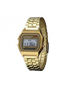 a1d6588dc1b Relógio Feminino Dourado de Pulso Quadrado - Relogios Femininos Sweet Lucy