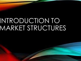 AP Microeconomics Market Structures